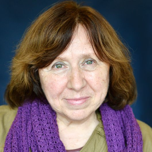 Svetlana Alexievich Portrait Session