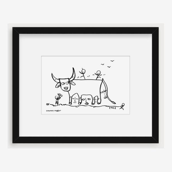 Shantell Martin, 'The Ox'