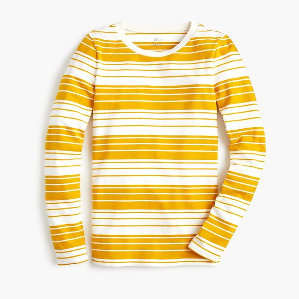 Slim Perfect Long-Sleeved T-shirt in Phoebe Stripe