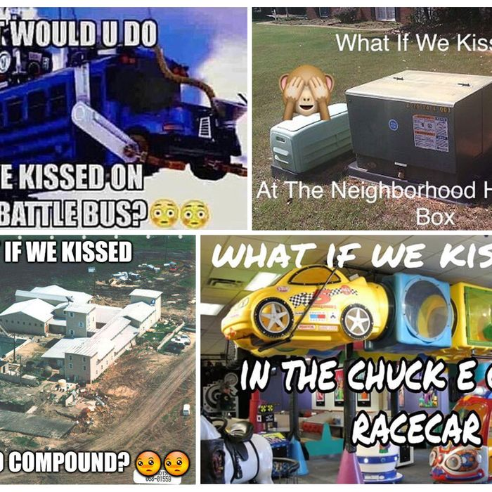 what if kissed meme