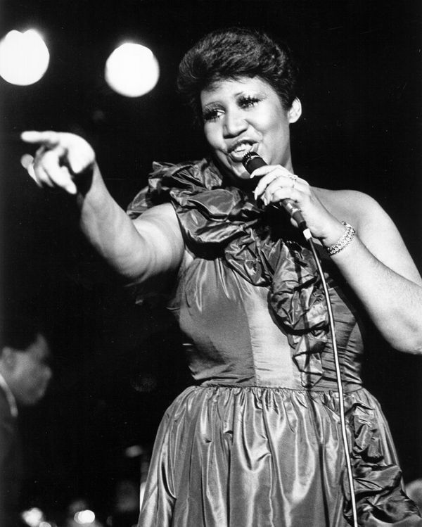 The legendary Aretha Franklin.