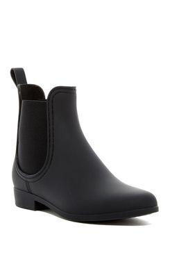 Jeffrey Campbell Forecast Chelsea Waterproof Rain Boot