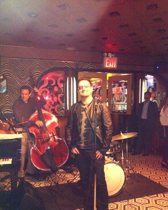 Bono at the Lenox Lounge.