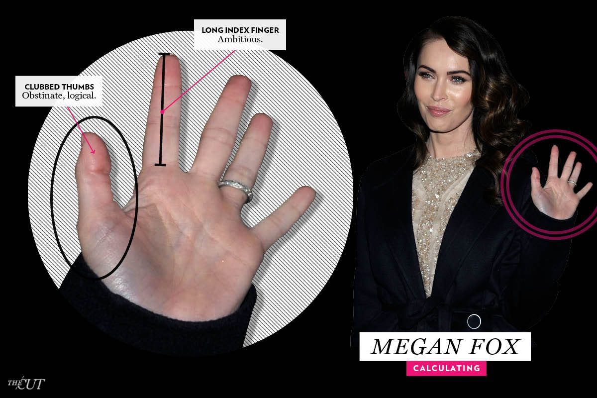 megan fox calculating 16 celebrity palm readings the cut