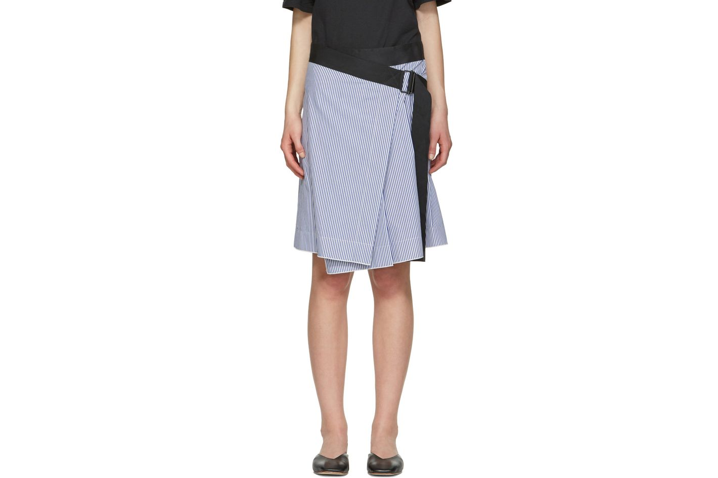 Rag & Bone Blue Lenna Skirt