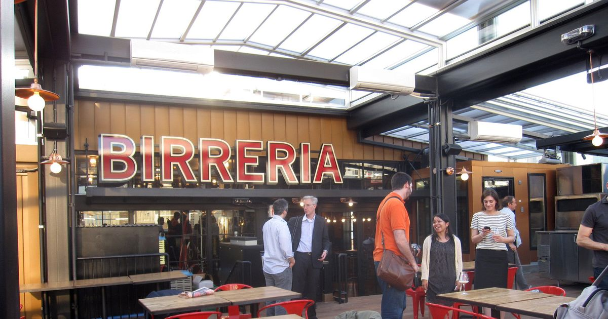 First Look At Eataly S Rooftop Beer Garden La Birreria