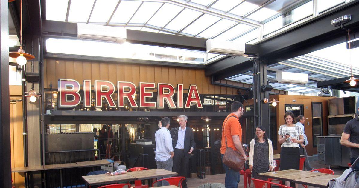First Look At Eataly S Rooftop Beer Garden La Birreria