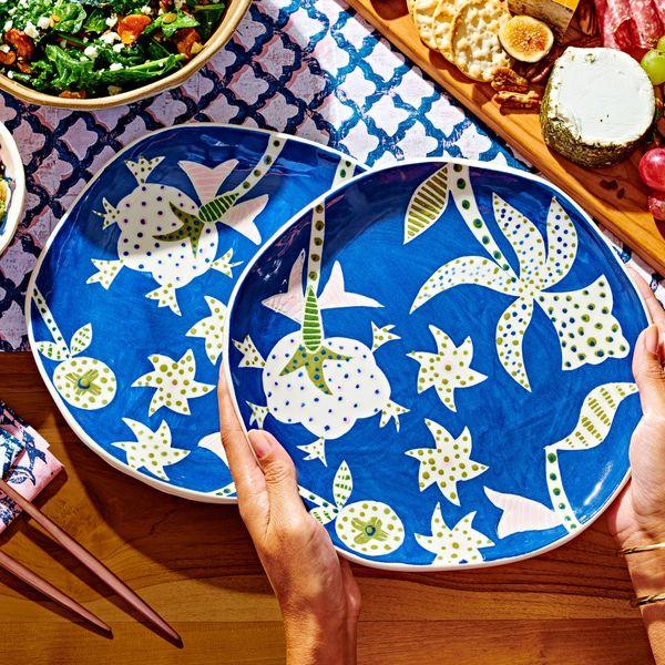 Etsy x Roller Rabbit Dinner Plate