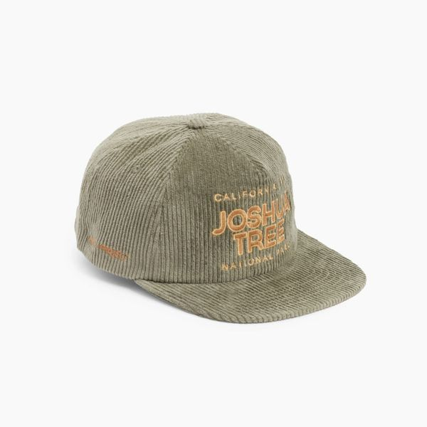 Parks Project Joshua Tree Embroidered Corduroy Baseball Cap