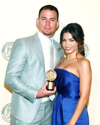 (L-R) Channing Tatum and Jenna Dewan-Tatum attend the 71st Annual Peabody Awards