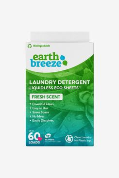 Earth Breeze Liquidless Laundry Detergent Sheets