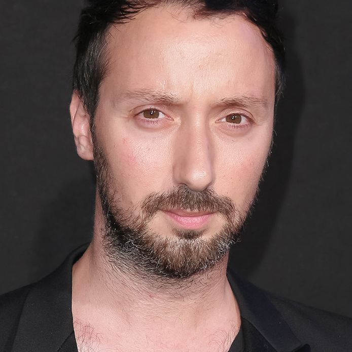 Slimane and his potential rival, Anthony Vaccarello
