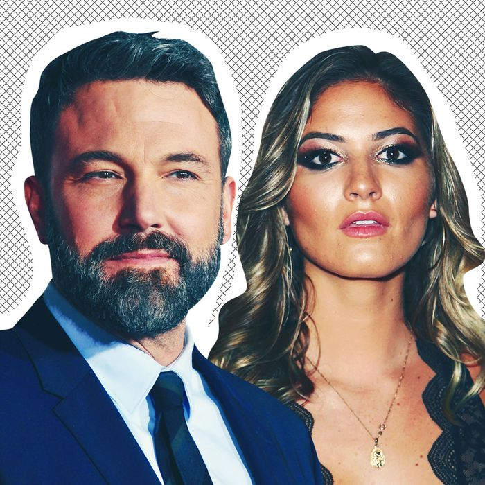 Ben Affleck and Shauna Sexton.