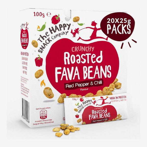 The Happy Snack Company Roasted Fava Beans
