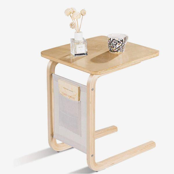 Tangkula Side Table, Wood