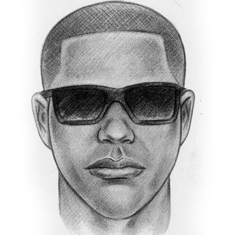 This sketch released by the New York Police Department shows a man who is being sought in connection with the fatal shooting of shopkeeper Isaac Kadare at his store in the Bensonhurst neighborhood in the Brooklyn borough of New York, on Aug. 2, 2012. The same gun that killed Kadare was also used in the murders of two other shopkeepers, according to police, with the latest victim being fatally shot Friday, Nov. 16, 2012, in Brooklyn's Flatbush neighborhood.