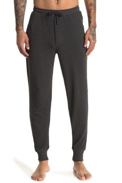 Unsimply Stitched Waffle Knit Joggers