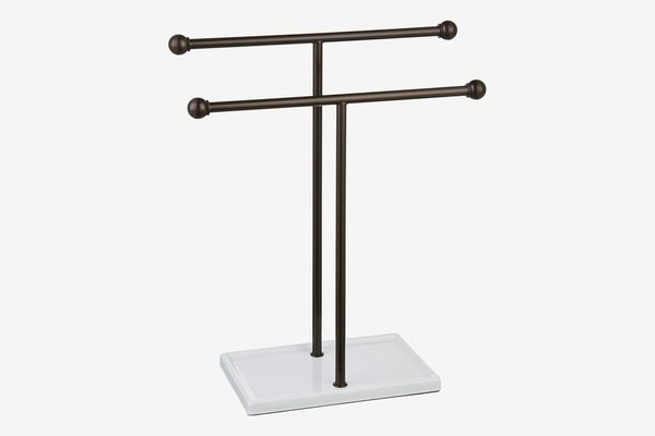 AmazonBasics Double-T Accessories Jewelry Stand
