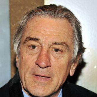 Actor Robert De Niro attends a screening of