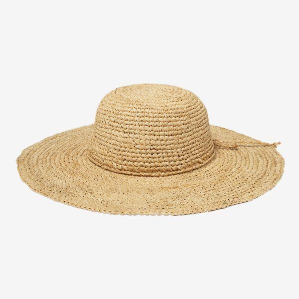 San Diego Hat Company's Signature Women's Large Brim Raffia Hat
