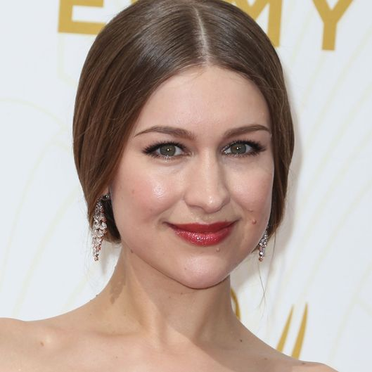 Joanna Newsom arrives at the 67th Annual Primetime Emmy Awards