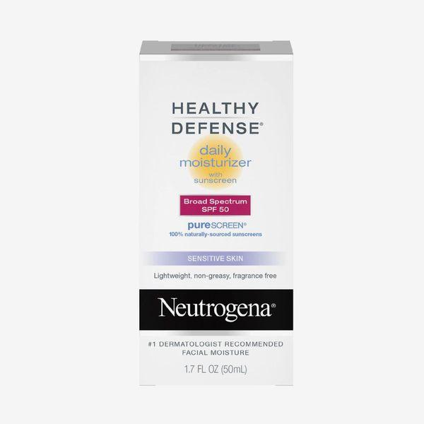 Neutrogena Healthy Defense Daily Moisturizer with SPF 50 and Vitamin E