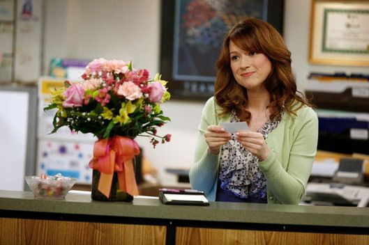 THE OFFICE: Ellie Kemper as Erin Hannon