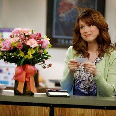 THE OFFICE: Ellie Kemper as Erin Hannon