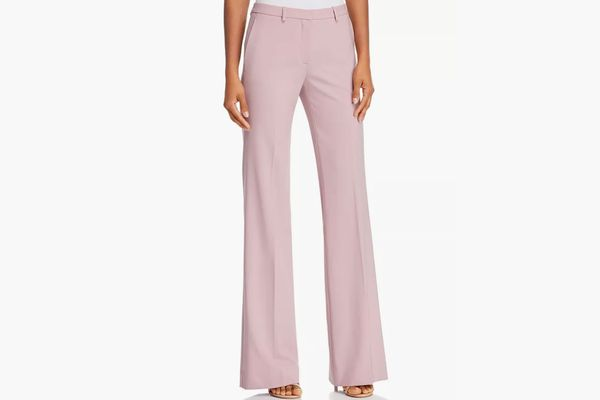 Theory Demitria Wool-Blend Flared Pants