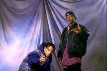 Kriss Kross on 11/28/92 in Chicago, Il.