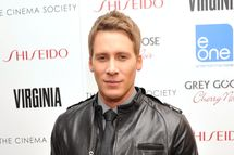 "Writer/Director Dustin Lance Black attends The Cinema Society & Shiseido With Grey Goose Host A Screening Of ""Virginia""at Crosby Street Hotel on May 14, 2012 in New York City."