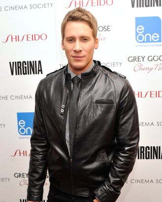 Writer/Director Dustin Lance Black attends The Cinema Society & Shiseido With Grey Goose Host A Screening Of