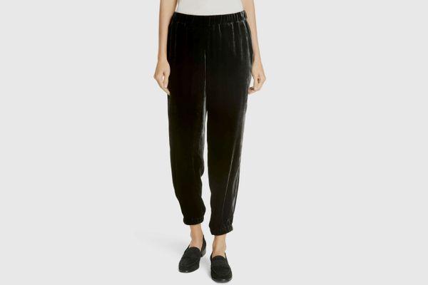 Eileen Fisher Velvet Jogger Pants