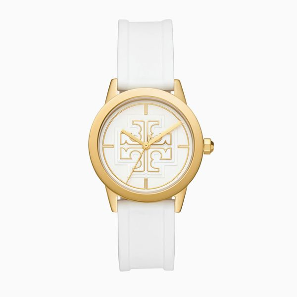 Tory Burch Gigi Silicone Strap Watch, 36mm