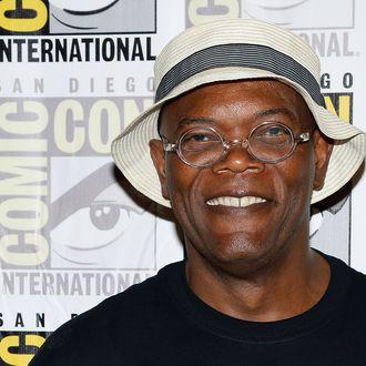 SAN DIEGO, CA - JULY 20: Actor Samuel L. Jackson attends Marvel's
