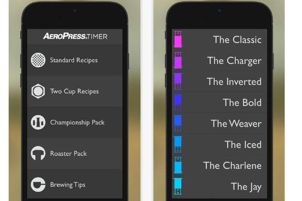 AeroPress Timer App