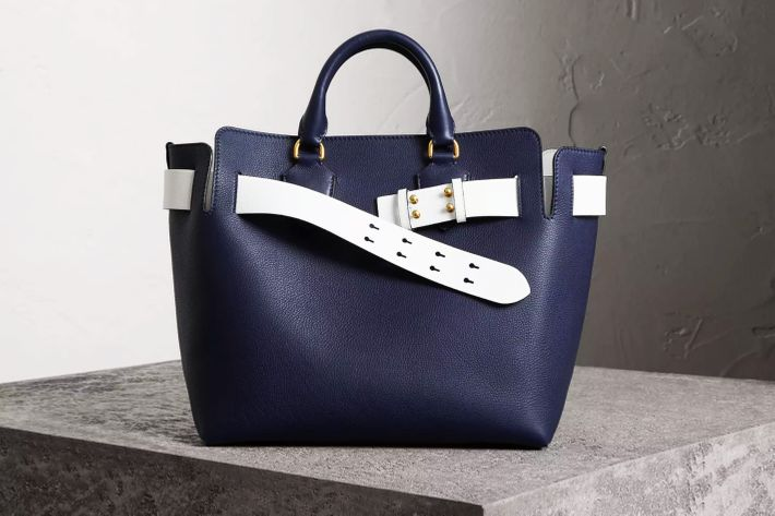 burberry bag leather