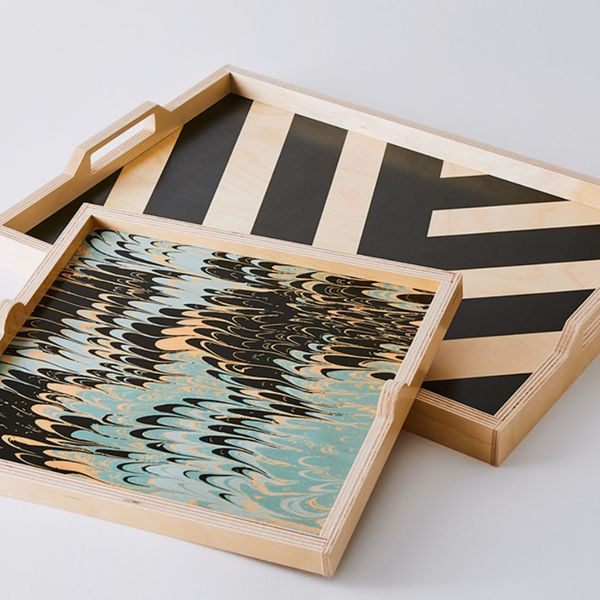 Wolfum Handcrafted Wooden Mix & Match Trays