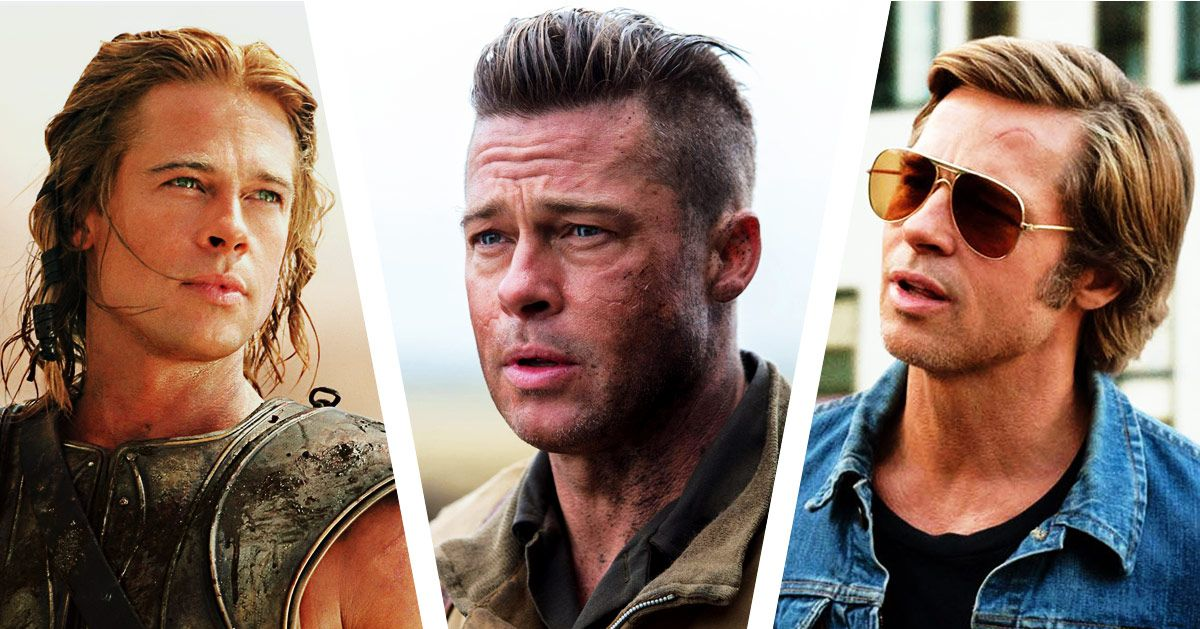 Brad Pitt's 12 Best Movie Haircuts