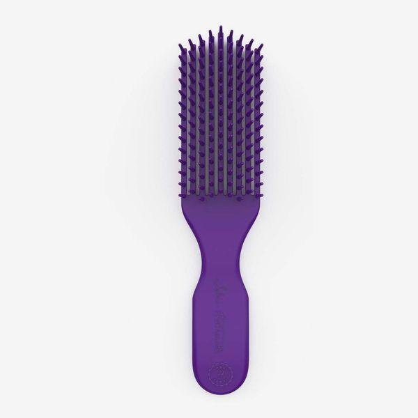 Felicia Leatherwood Detangler Brush (Violet Blue Iris)