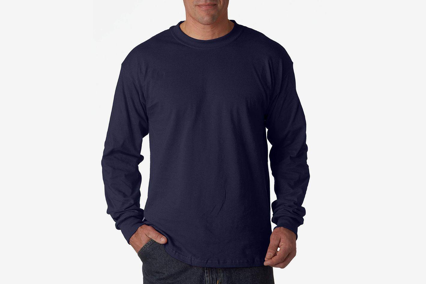 Gildan Heavy Cotton 100% Cotton Long Sleeve T-Shirt
