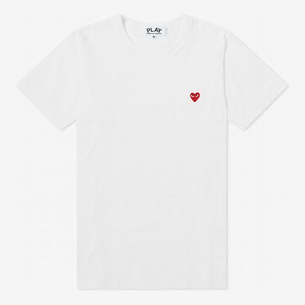 Comme Des Garçons Play Women's Heart T-shirt
