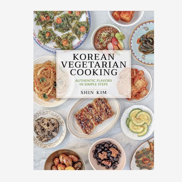"""""""Korean Vegetarian Cooking: Authentic Flavors in Simple Steps"""" by Shin Kim"""