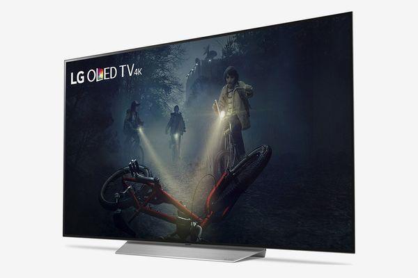 LG 55-Inch OLED55C7P 4K HDR Smart TV 2017 Model
