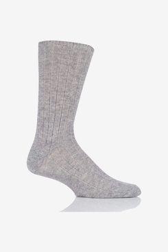 Men's 100% Cashmere Bed Socks