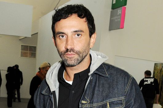 Riccardo Tisci attends the VIP preview of the annual Frieze Art Fair in Regent's Park on October 16, 2013 in London, England.