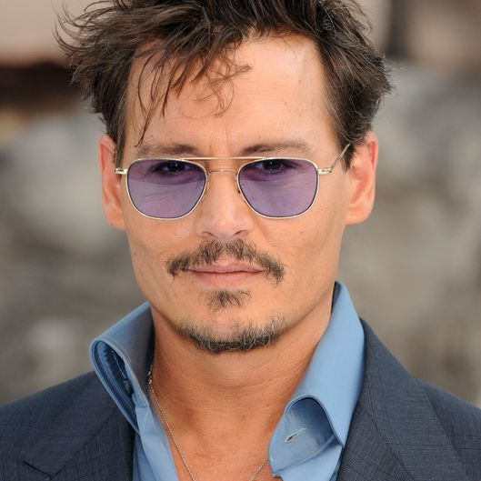 Den 54-år gammal, 178 cm lång Johnny Depp in 2018 photo