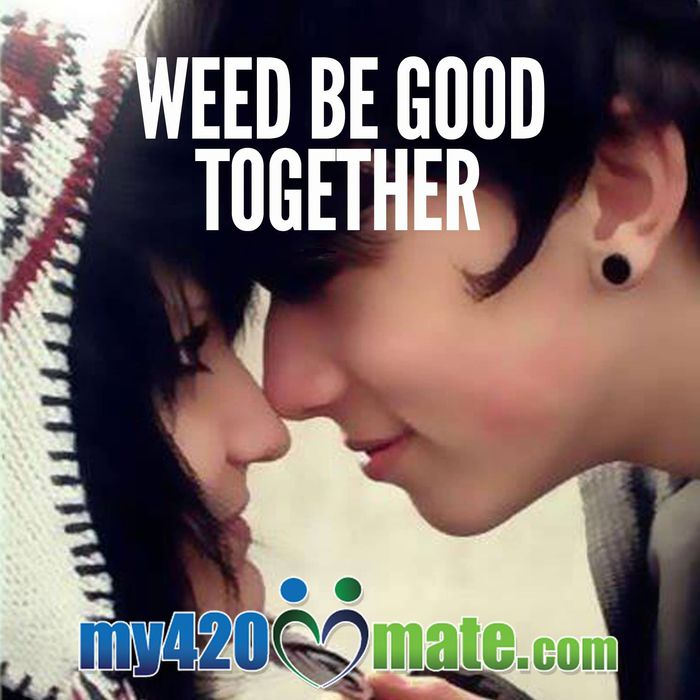 Dating website for potheads