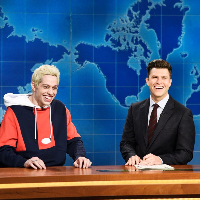 Pete Davidson on Saturday Night Live.