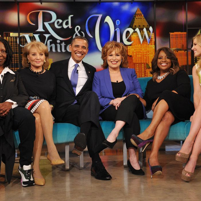 US President Barack Obama appears on the television show